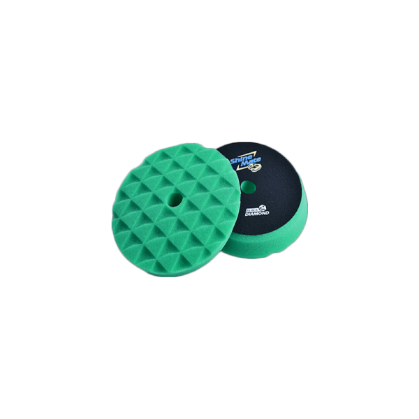 Shine Mate 3 Inch Green Diamond Pad T120